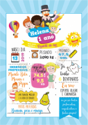 Teddys Personalizado - Quadrinhos com Tema - Personalize