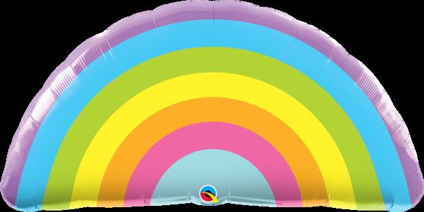 Balão Arco Iris Radianete - 36 Polegadas