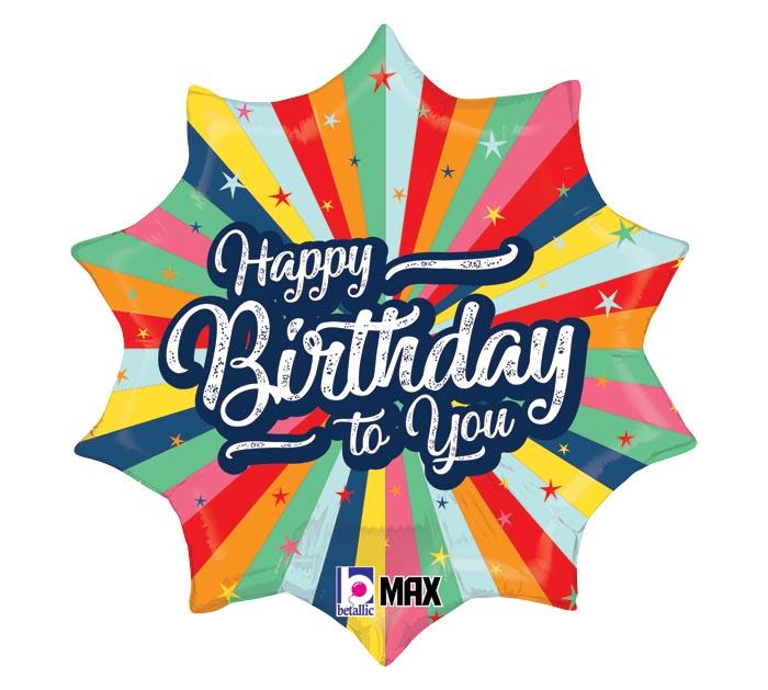 Happy Birthday Super Colorido 18 -  Ean :030625261272