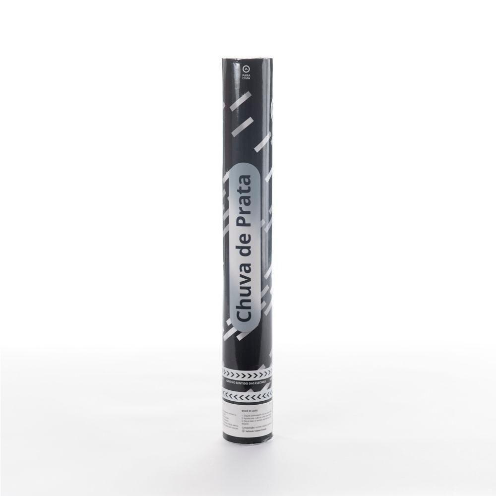 Lança Confete Chuva de Prata 40 Cm - 01 unidade