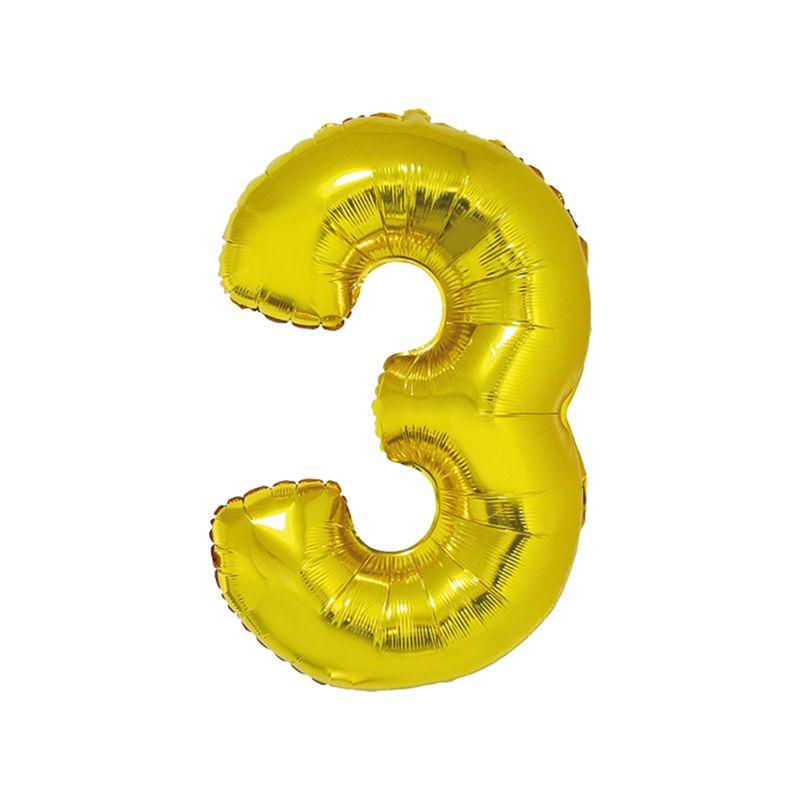 Número Dourado 40 Polegadas - 3 .Ean :8712364847925