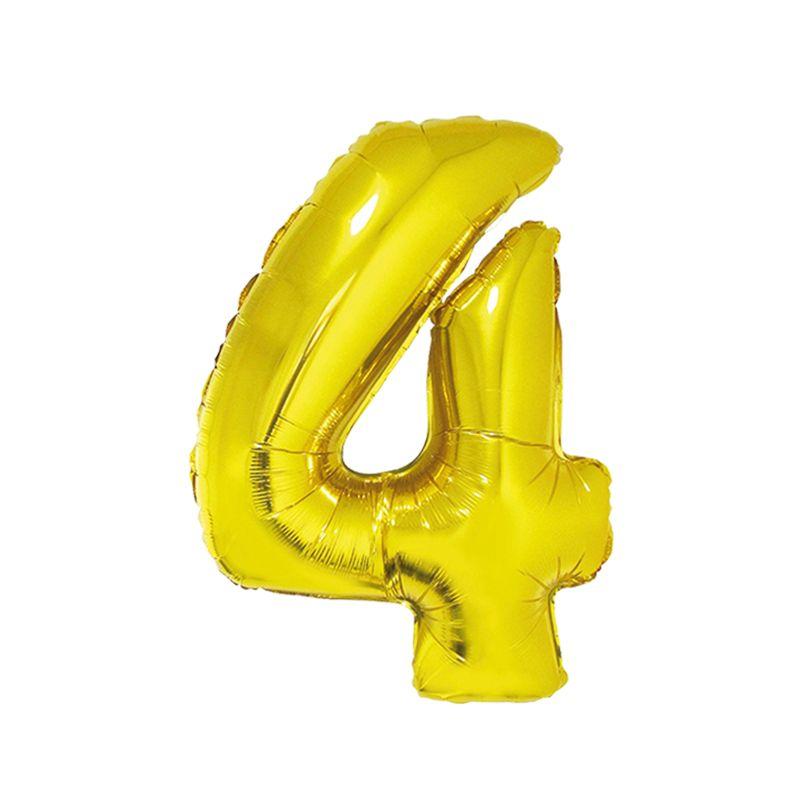 Número Dourado 40 Polegadas - 4 .Ean :8712364847932