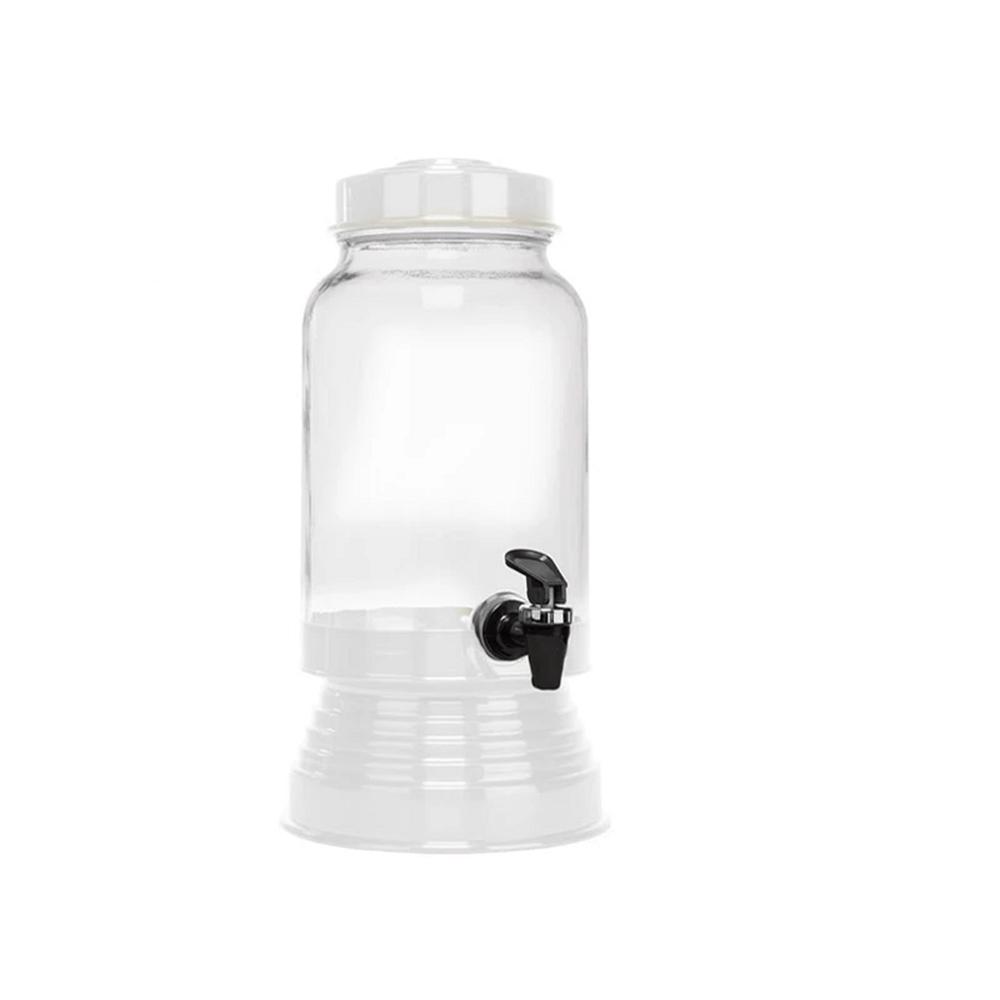 Suqueira de Vidro 3,250L - Branco