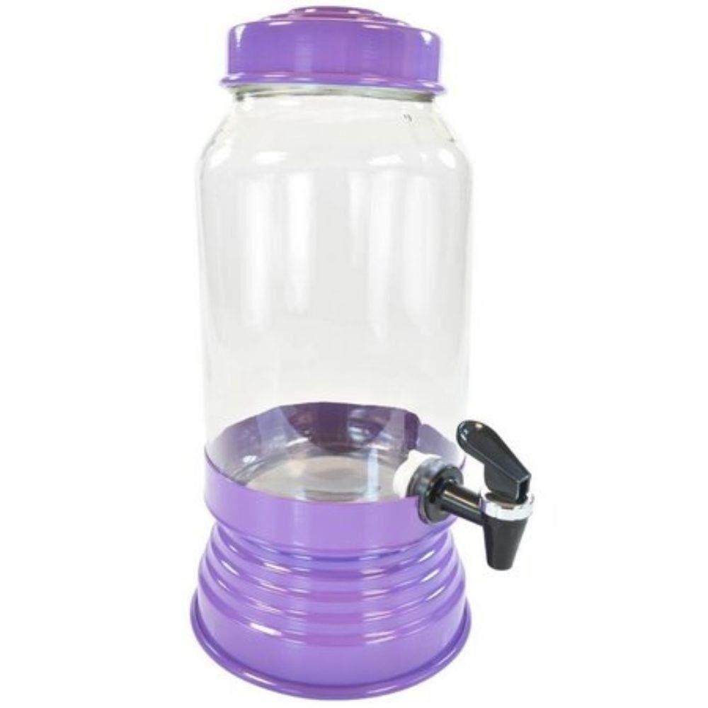 Suqueira de Vidro 3,250L - Roxa