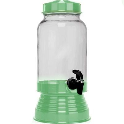 Suqueira de Vidro 3,250L - Verde
