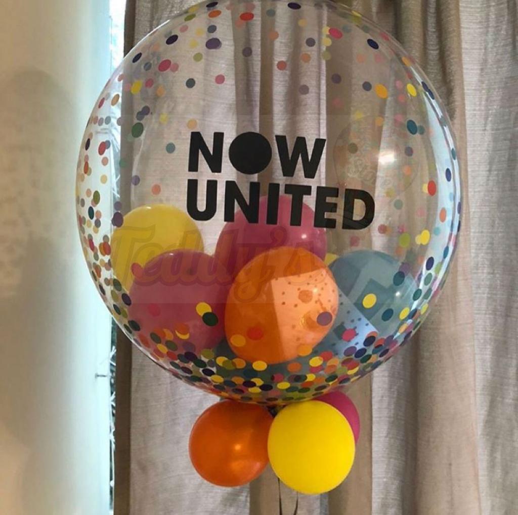 Teddys Bouquet - Bubble com Estampa de Confetes Coloridos