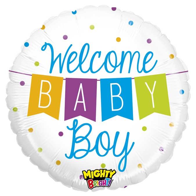 Welcome Baby Boy - 01 unidade -  Ean :030625143455