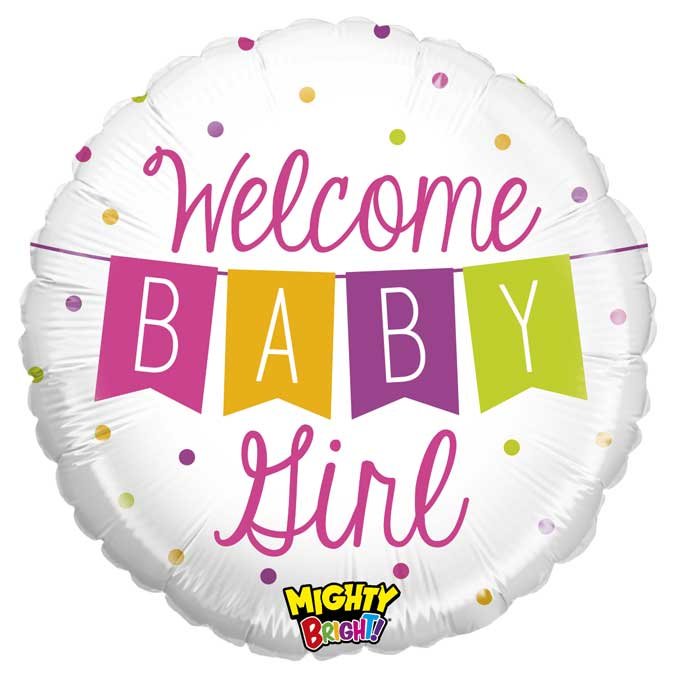 Welcome Baby Girl - 01 unidade -  Ean :030625143448
