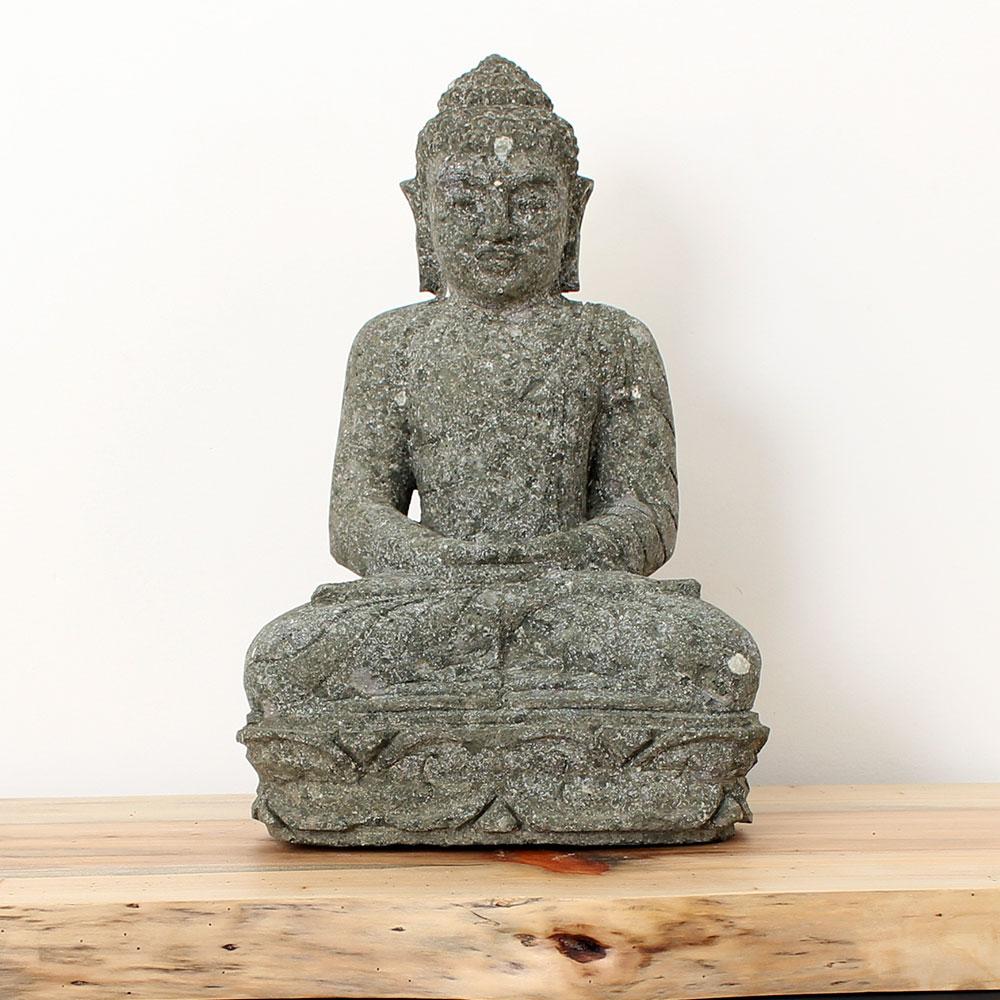 Estátua Buda Meditação 46cm ST20