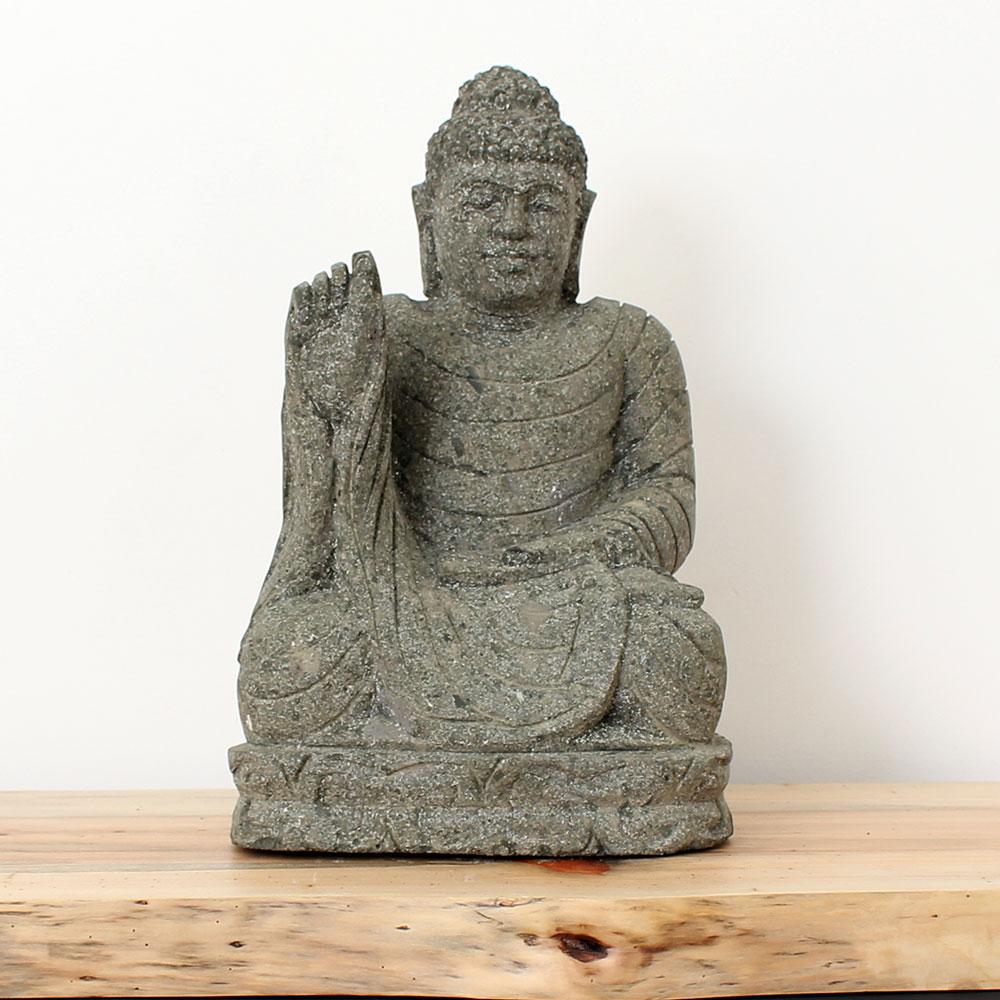 Estátua Buda Abhaya 45cm ST33