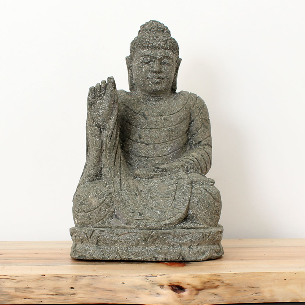Estátua Buda Abhaya 46cm ST22-L