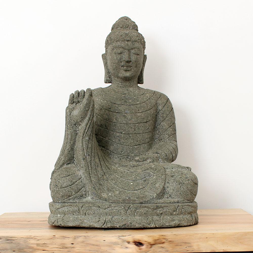 Estátua Buda Abhaya 66cm ST39