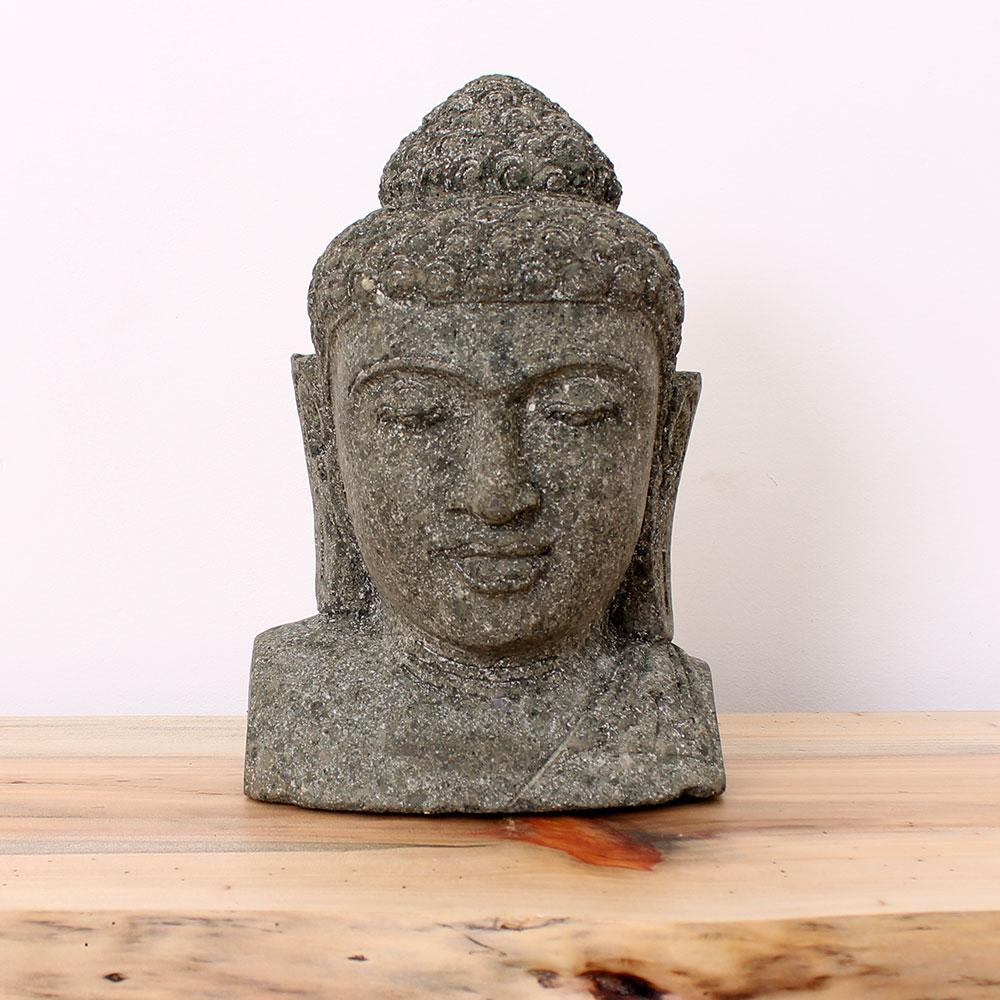 Estátua Buda Busto 33cm ST53