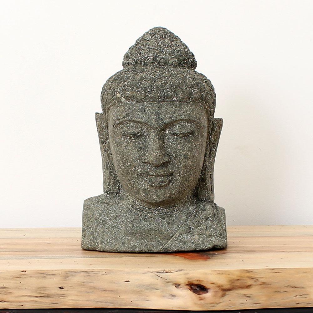 Estátua Buda Busto 33cm ST54
