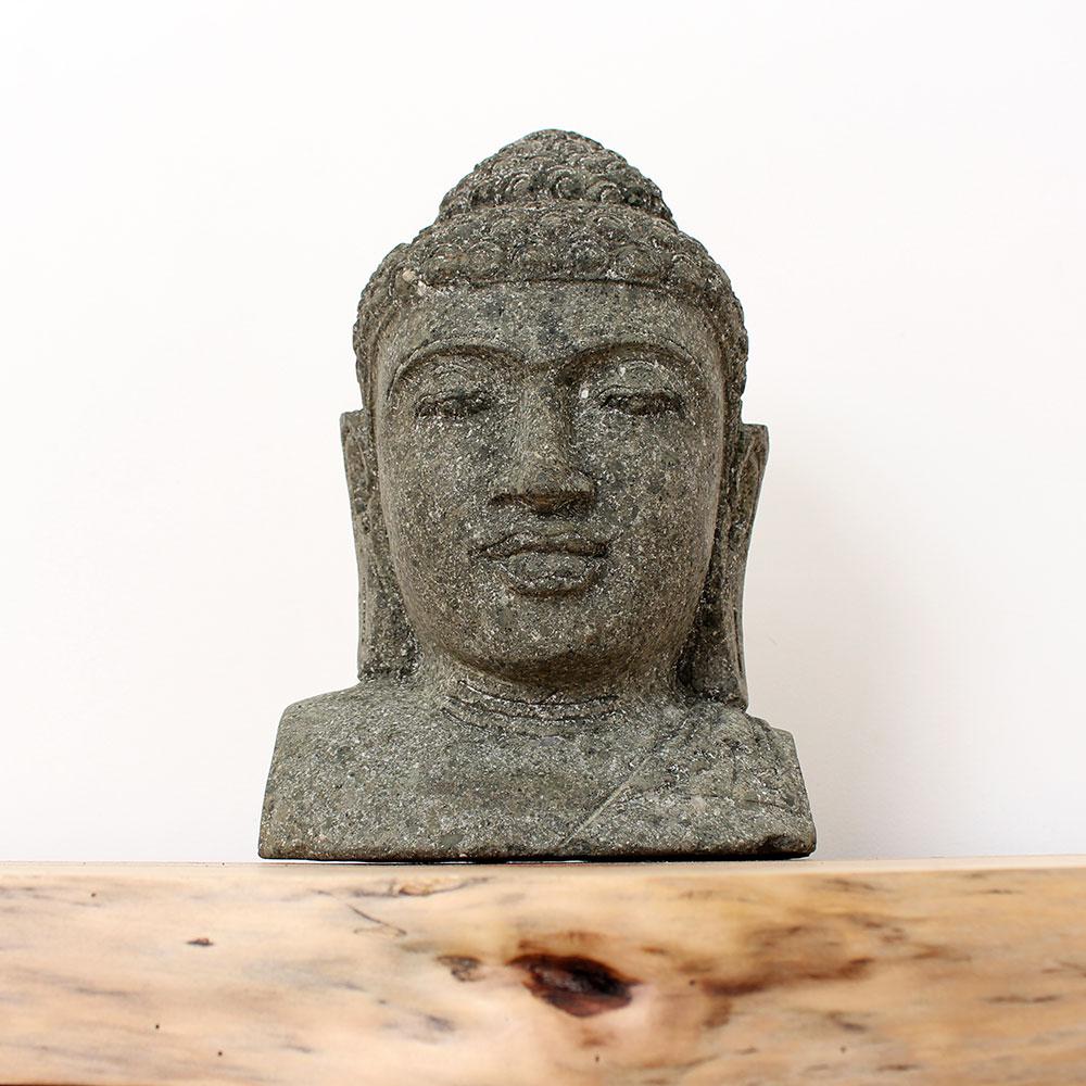 Estátua Buda Busto 33cm ST52