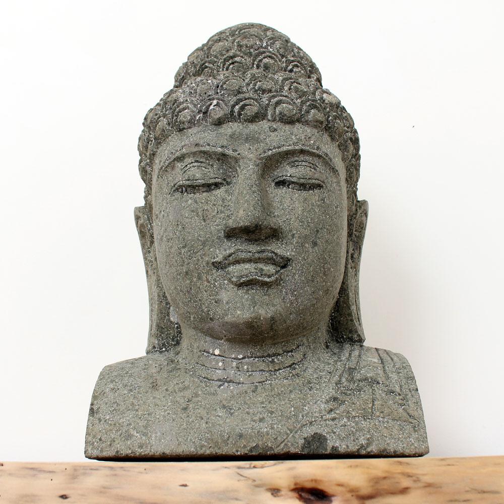 Estátua Buda Busto 52cm ST56