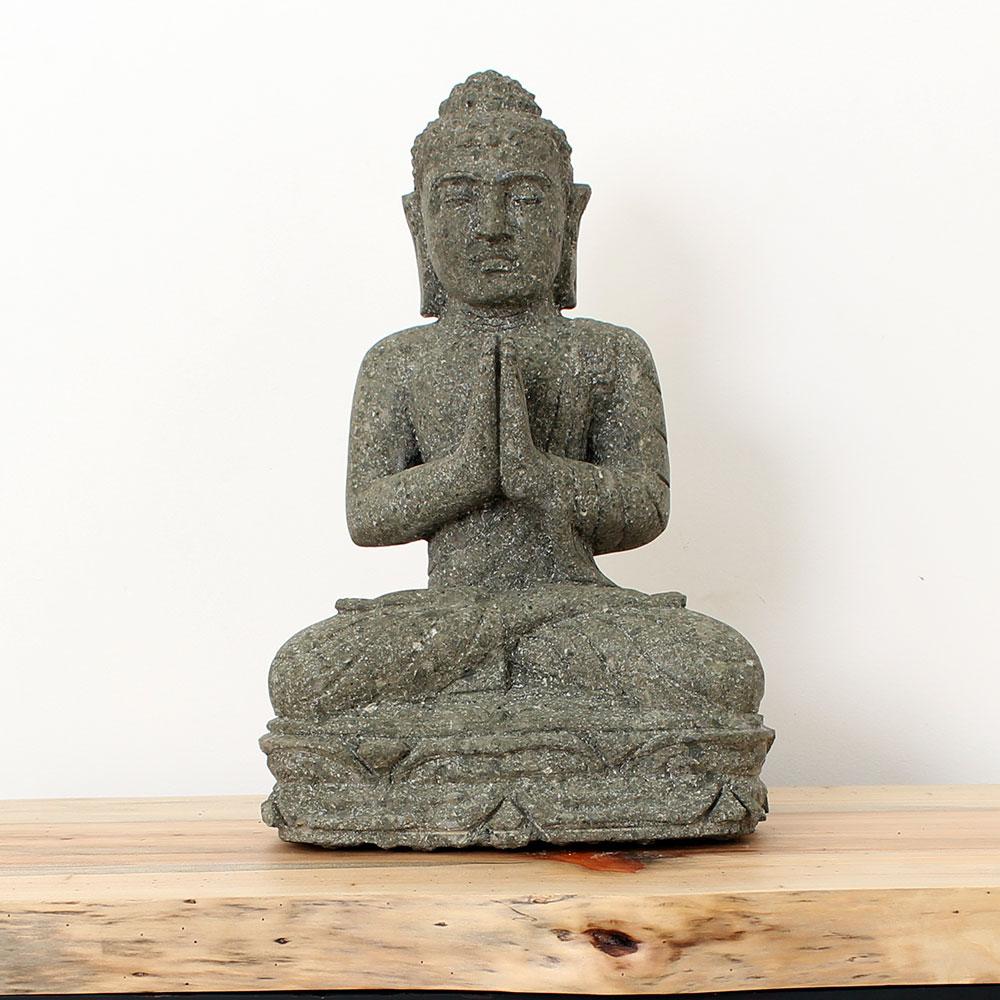Estátua Buda Greeting 44cm ST11