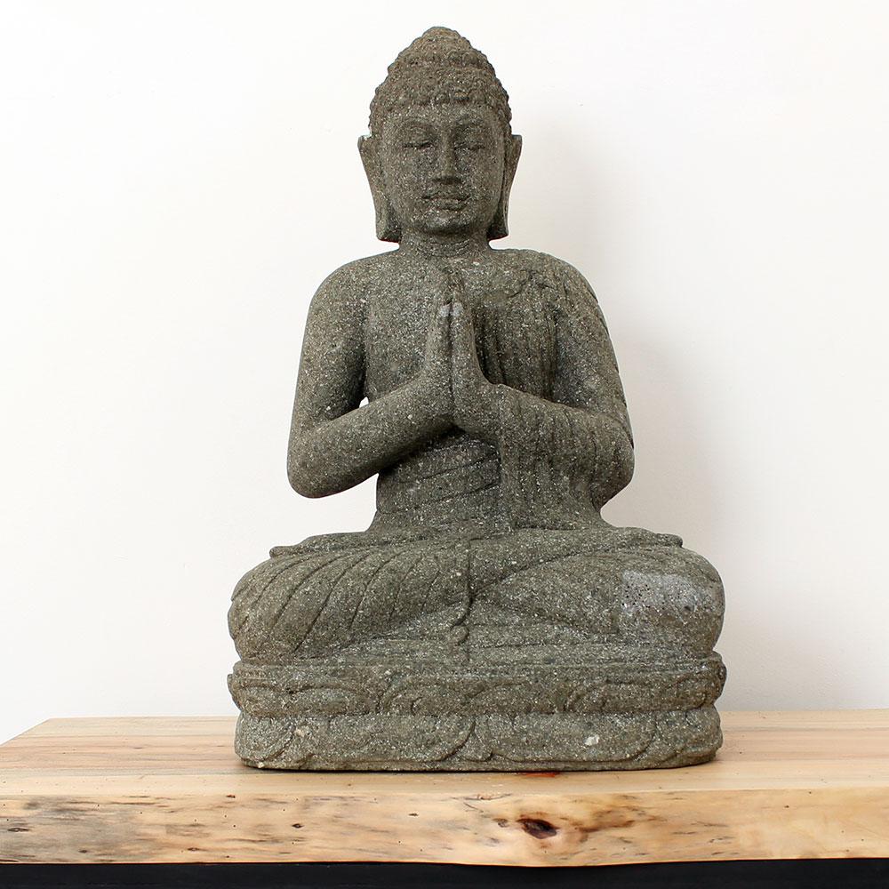 Estátua Buda Greeting 56cm ST14