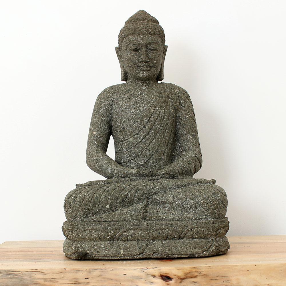 Estátua Buda Meditação 59cm ST26
