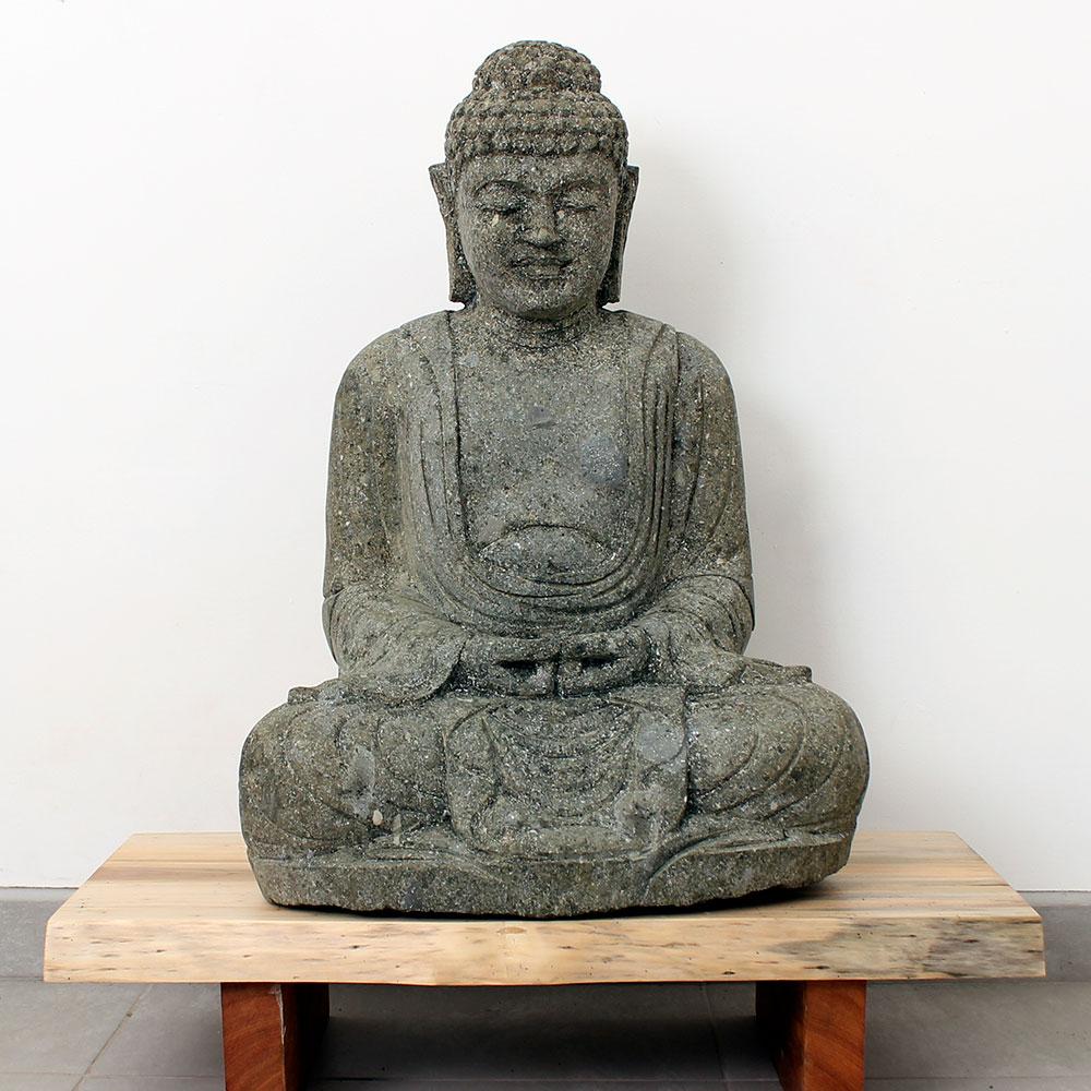 Estátua Buda Meditação 78cm ST42