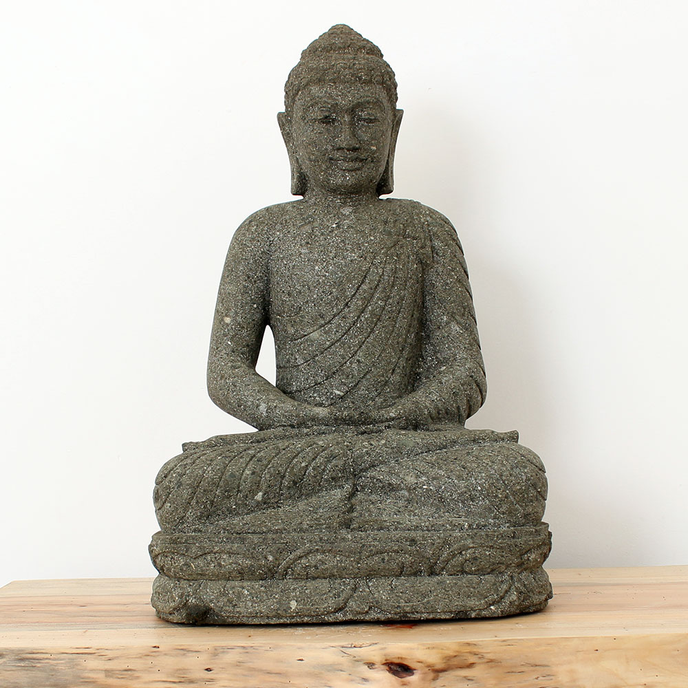 Estátua Buda Meditação 61cm ST23