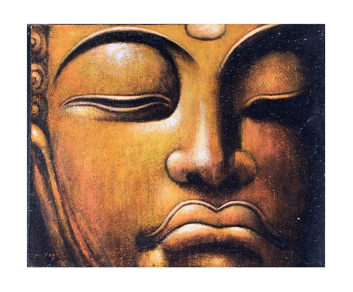 Quadro Buda Busto BBG101 100x120CM