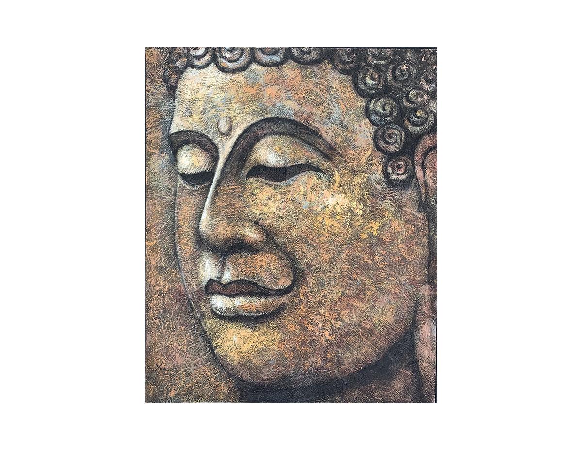 Quadro Buda Busto BBG111-L 120x100CM