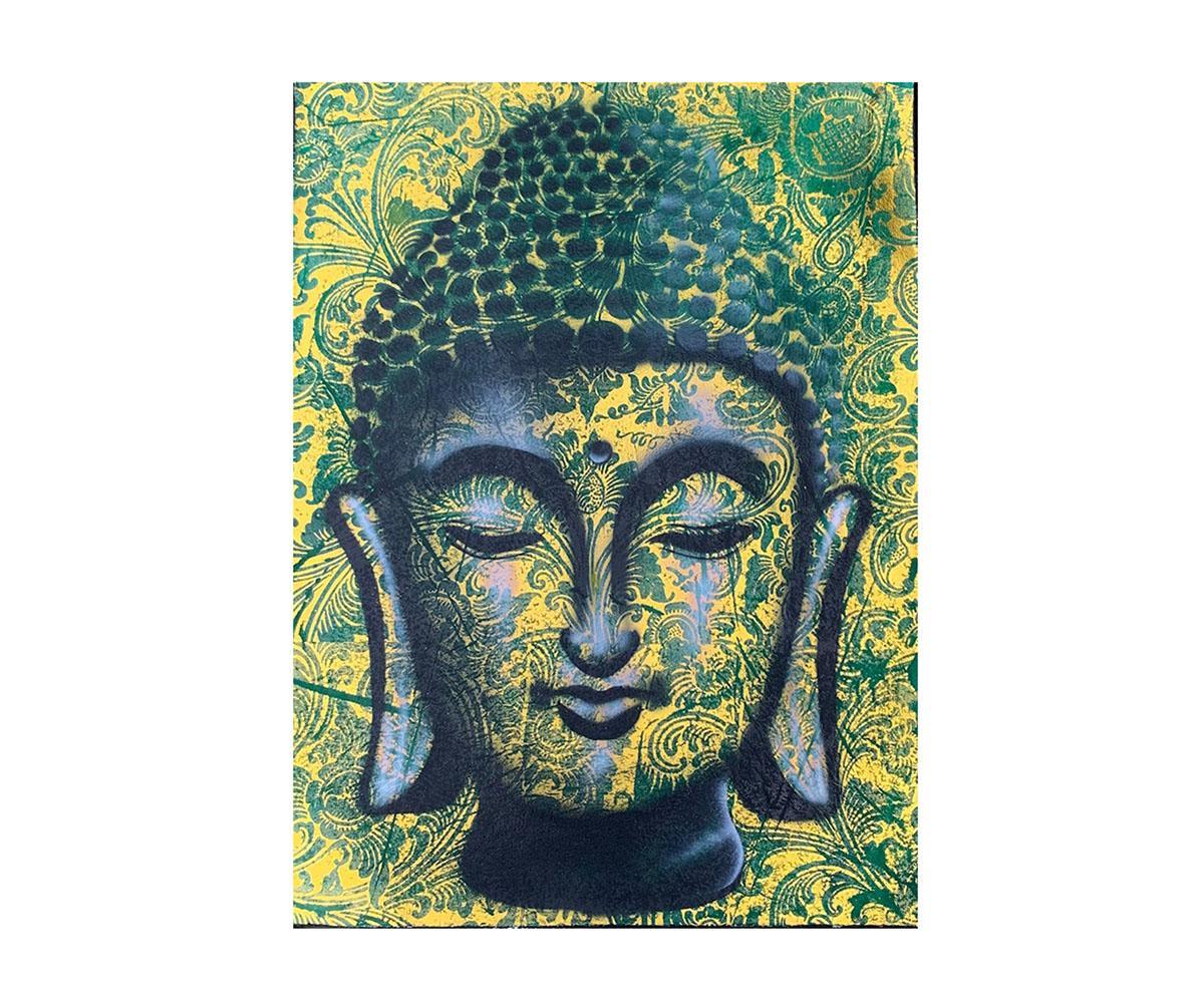 Quadro Buda Busto BBM706 80x60CM
