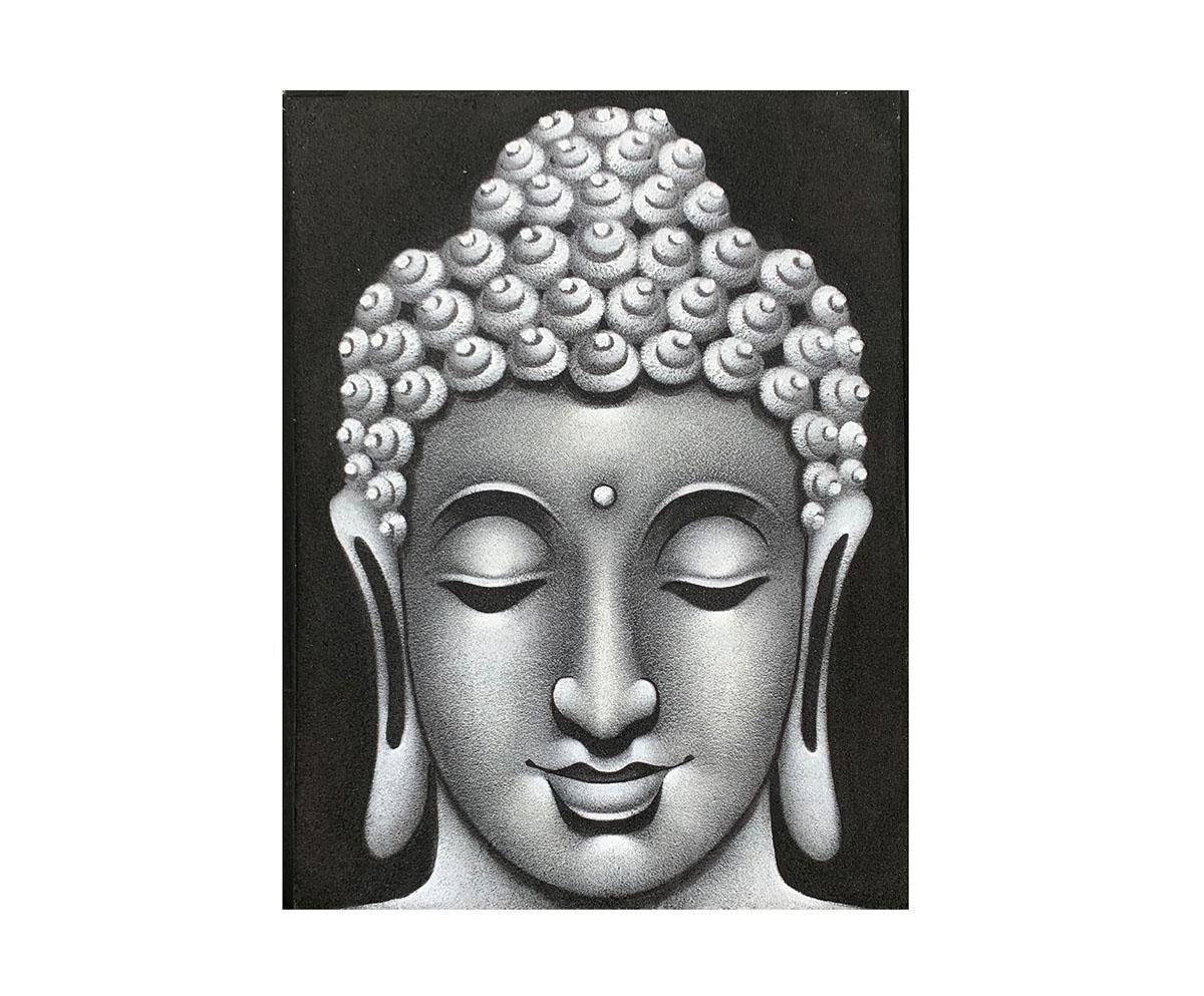 Quadro Buda Busto BBM906 80x60CM