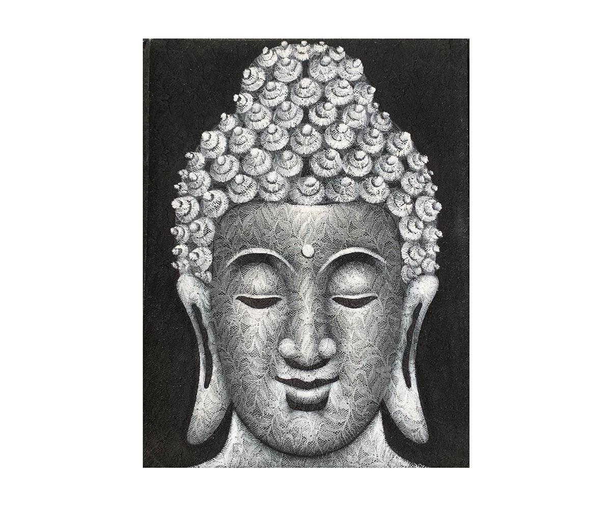 Quadro Buda Busto BBM908 80x60CM