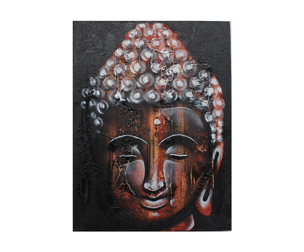 Quadro Buda Busto BBP01-L 30x40CM