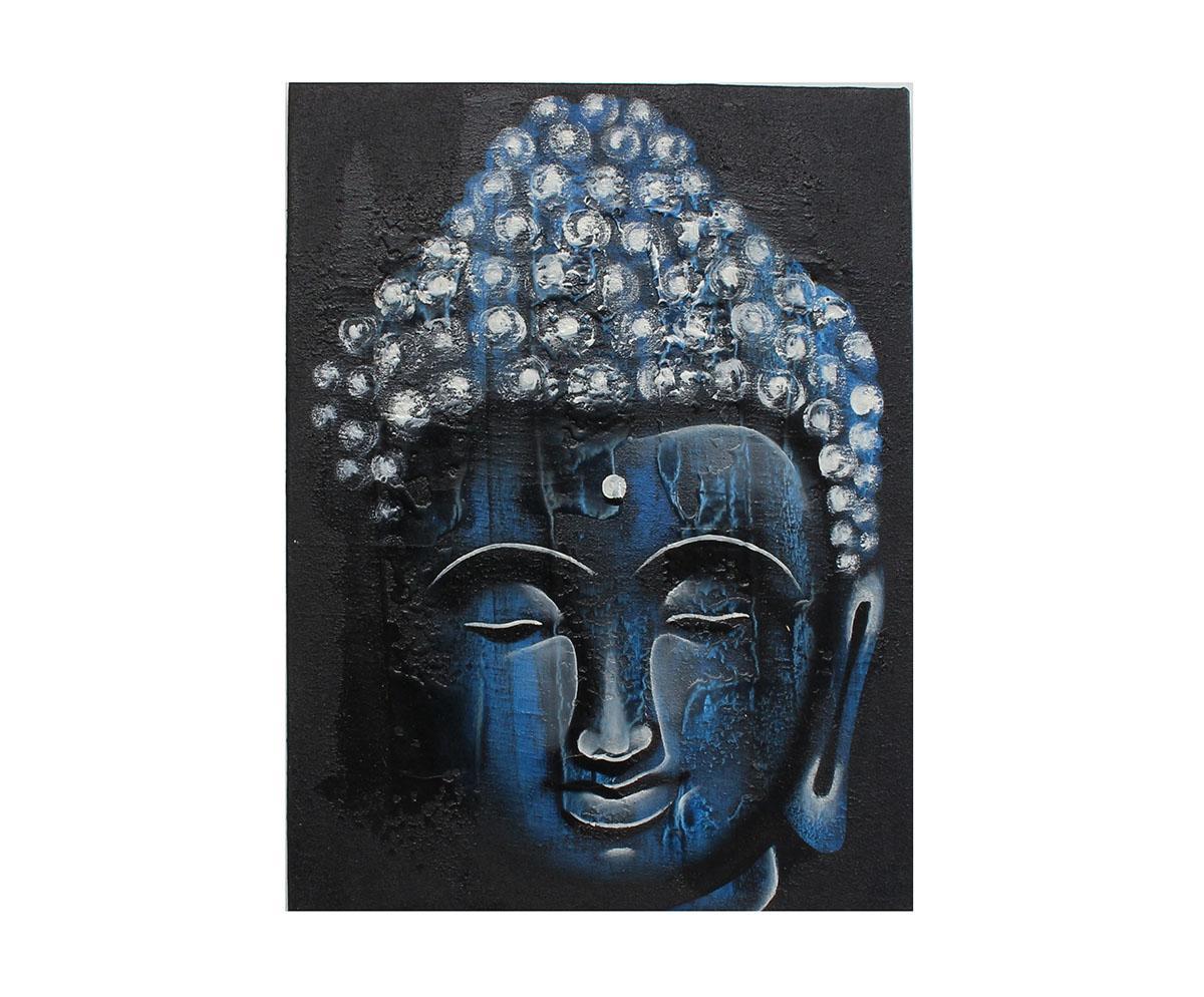 Quadro Buda Busto BBP02 30x40CM