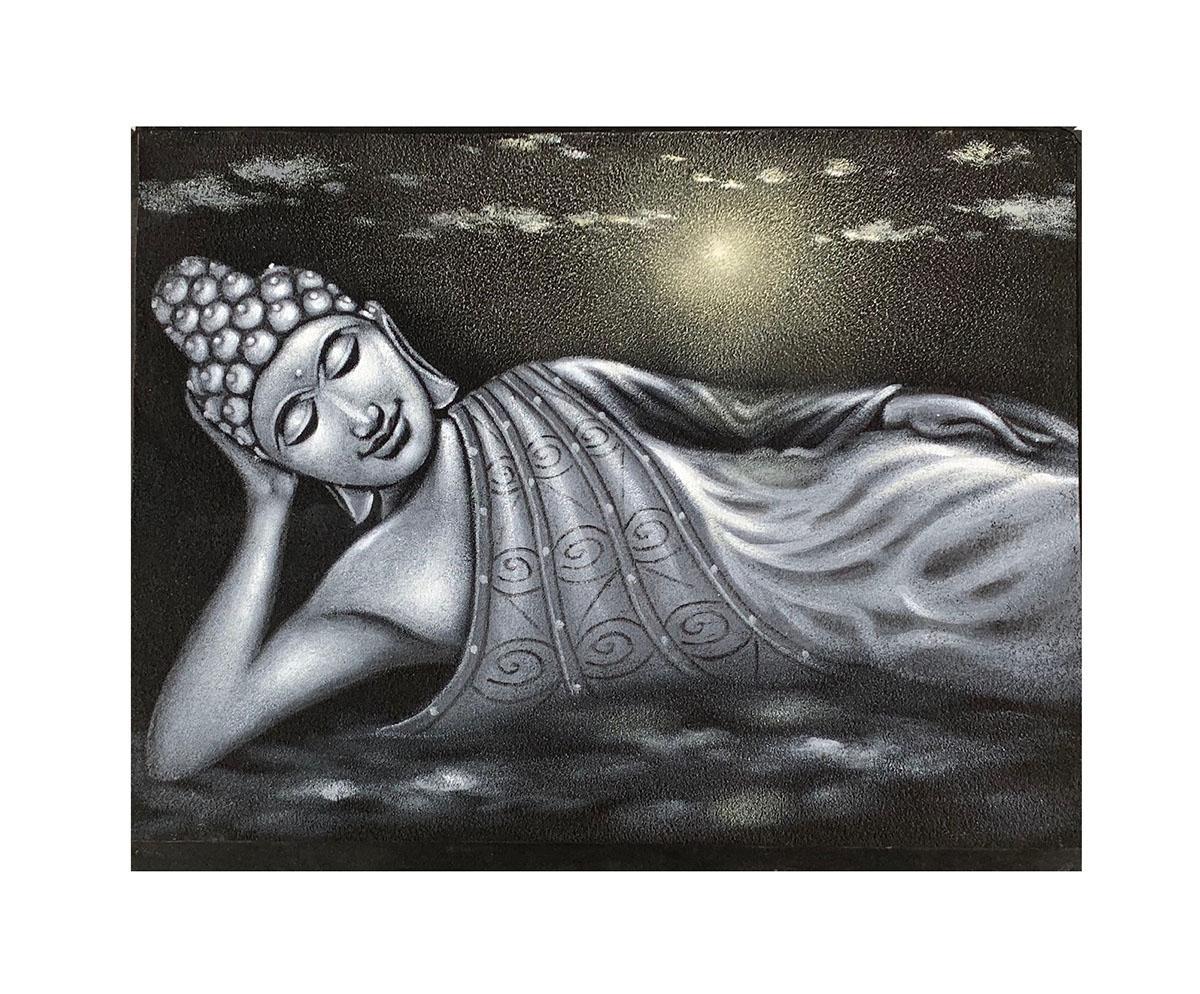 Quadro Buda Deitada BDM101 80x60CM