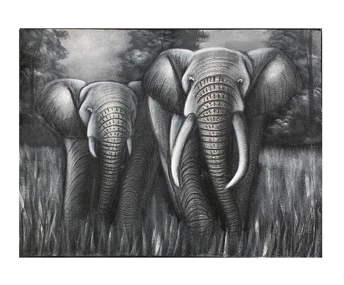 Quadro Elefante MP606 80x60CM