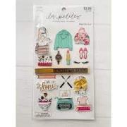 Adesivo La Petites 3D - Fashion Girls