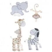 Adesivo La Petites 3D - Safari Baby