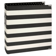 Álbum Snap  Simples Stories -   6x8 SN@P! Binder Black Stripes