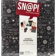 - Álbum Snap  Simples Stories -   6x8 SN@P! Binder Say Cheese 4