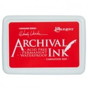 Carimbeira Archival Ink - Carnation Red
