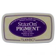 Carimbeira StazOn Pigment Tsukineko - Grape Candy - Roxa