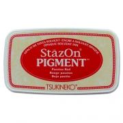Carimbeira StazOn Pigment Tsukineko - Passion Red