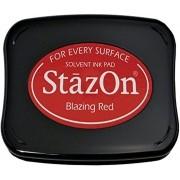 Carimbeira StazOn Tsukineko - Blazing Red - Vermelho