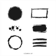 Carimbo StampinUp- Texturas & Frames