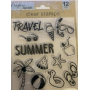 Carimbo- Travel / Summer- Crafters Square