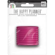 Discos Grande Rosa - Expander The Happy Planner - 9 unidades