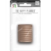 Discos Médio Rose Gold - The Happy Planner - 9 unidades