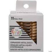 Discos Metálicos Grandes/ Expander Rose Gold - The Happy Planner - 11 unidades