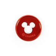 Discos Metálicos Medios Disney Mickey Vermelho - The Happy Planner - 11 unidades