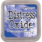 Distress Oxide - Tim Holtz -Blueprint Sketch