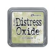 Distress Oxide - Tim Holtz -Old Paper  (verde)